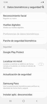 Habilitar seguridad de huella digital - Samsung Galaxy S20 - Passo 4