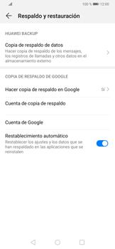 Realiza una copia de seguridad con tu cuenta - Huawei P30 - Passo 8