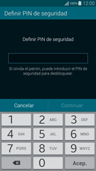 Desbloqueo del equipo por medio del patrón - Samsung Galaxy Alpha - G850 - Passo 11