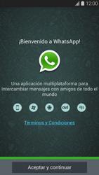 Configuración de Whatsapp - Samsung Galaxy S5 - G900F - Passo 4