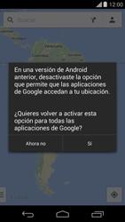 Uso de la navegación GPS - Motorola Moto G - Passo 7