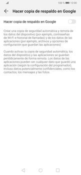 Realiza una copia de seguridad con tu cuenta - Huawei P30 - Passo 6
