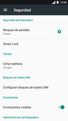 Desbloqueo del equipo por medio del patrón - Motorola Moto C - Passo 13