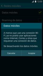 Desactiva tu conexión de datos - Samsung Galaxy S5 - G900F - Passo 6