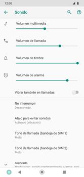 Cómo activar el modo de vibración o silencio - Motorola Moto G8 Play (Single SIM) - Passo 4