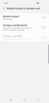 Configura el hotspot móvil - Samsung S10+ - Passo 6