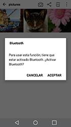 Transferir fotos vía Bluetooth - LG X Cam - Passo 9