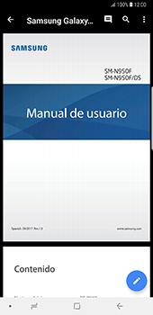Descargar contenido de la nube - Samsung Galaxy Note 8 - Passo 9