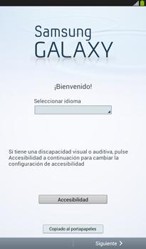 Activa el equipo - Samsung Galaxy Tab 3 7.0 - Passo 4
