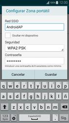 Configura el hotspot móvil - Samsung Galaxy A3 - A300M - Passo 8