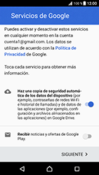 Crea una cuenta - Sony Xperia XZ Premium - Passo 16