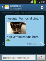 Envía fotos, videos y audio por mensaje de texto - Samsung Galaxy Pocket Neo - S5310L - Passo 17