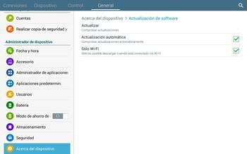 Actualiza el software del equipo - Samsung Galaxy Note Pro - Passo 8