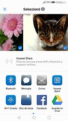 Transferir fotos vía Bluetooth - Huawei P10 - Passo 8