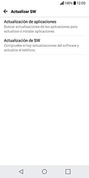Actualiza el software del equipo - LG Q6 - Passo 7