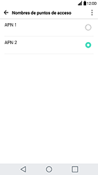 Configura el Internet - LG G5 - Passo 17