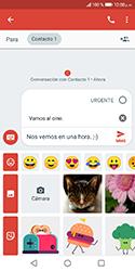 Envía fotos, videos y audio por mensaje de texto - Huawei Y5 2018 - Passo 9