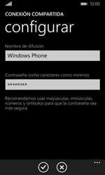 Configura el hotspot móvil - Microsoft Lumia 532 - Passo 6