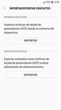 ¿Tu equipo puede copiar contactos a la SIM card? - Samsung Galaxy J7 Prime - Passo 7