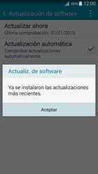 Actualiza el software del equipo - Samsung Galaxy A5 - A500M - Passo 10