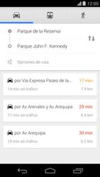 Uso de la navegación GPS - Motorola Moto X (2a Gen) - Passo 19