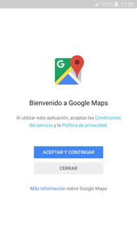 Uso de la navegación GPS - Samsung Galaxy Note 5 - N920 - Passo 4