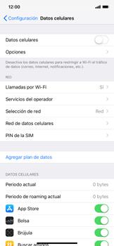 Desactiva tu conexión de datos - Apple iPhone XR - Passo 4