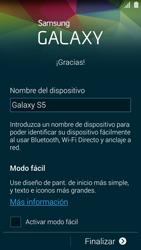Activa el equipo - Samsung Galaxy S5 - G900F - Passo 15