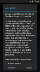 Uso de la navegación GPS - Samsung Galaxy Zoom S4 - C105 - Passo 14
