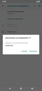 Conecta con otro dispositivo Bluetooth - Motorola One Zoom - Passo 7