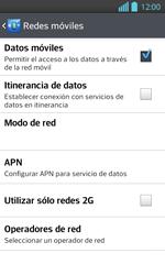 Configura el Internet - LG Optimus L 7 II - Passo 7