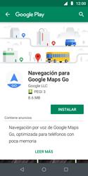 Uso de la navegación GPS - Motorola Moto E5 Play - Passo 17