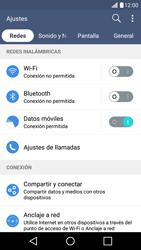 Desactiva tu conexión de datos - LG K10 - Passo 3