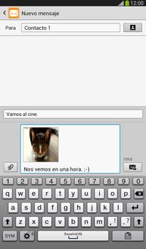 Envía fotos, videos y audio por mensaje de texto - Samsung Galaxy Tab 3 7.0 - Passo 15