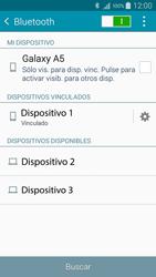 Conecta con otro dispositivo Bluetooth - Samsung Galaxy A5 - A500M - Passo 8