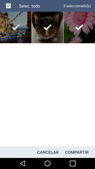 Transferir fotos vía Bluetooth - LG G4 - Passo 7