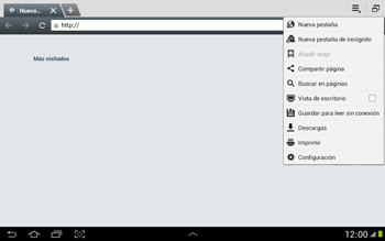 Configura el Internet - Samsung Galaxy Note 10-1 - N8000 - Passo 21