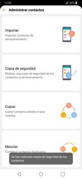 ¿Tu equipo puede copiar contactos a la SIM card? - LG G7 ThinQ - Passo 13