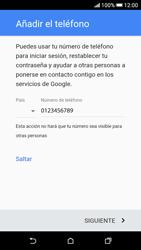 Crea una cuenta - HTC Desire 626s - Passo 12