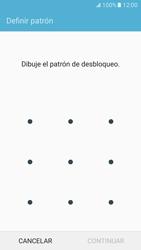 Desbloqueo del equipo por medio del patrón - Samsung Galaxy S7 - G930 - Passo 7