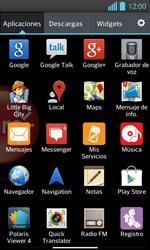 Uso de la navegación GPS - LG Optimus L 7 II - Passo 3