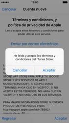 Crea una cuenta - Apple iPhone SE - Passo 10