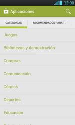 Instala las aplicaciones - LG Optimus L7 - Passo 5