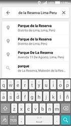 Uso de la navegación GPS - Huawei Y3 II - Passo 8