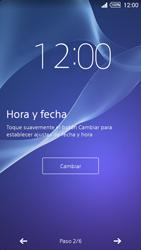 Activa el equipo - Sony Xperia Z2 D6503 - Passo 7