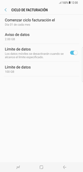 Desactivación límite de datos móviles - Samsung Galaxy S8+ - Passo 7