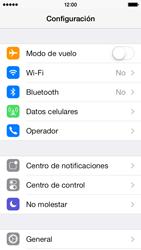 Conecta con otro dispositivo Bluetooth - Apple iPhone 5c - Passo 3