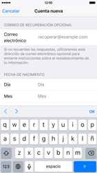 Crea una cuenta - Apple iPhone 6s - Passo 13