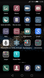 Transferir fotos vía Bluetooth - Huawei P8 - Passo 3
