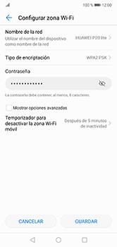 Configura el hotspot móvil - Huawei P20 Lite - Passo 7